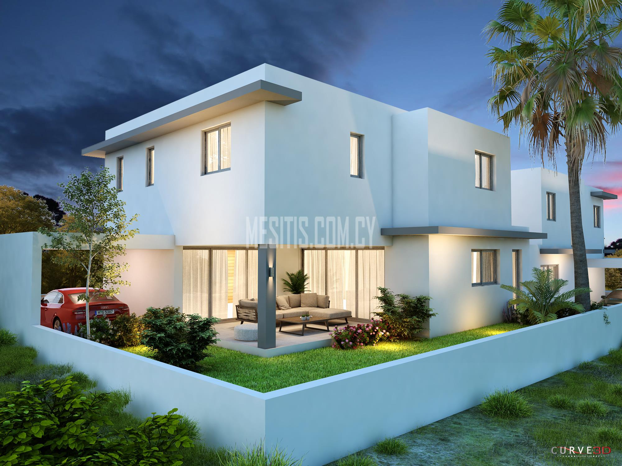 Fantastic modern under construction 4 bedroom houses for sale in kalithea